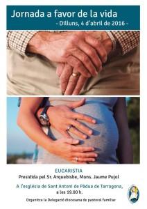 Cartell Eucaristia VIDA 04-04-2016