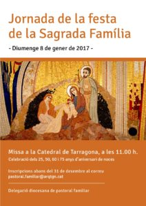 Cartell Missa Sagrada Familia