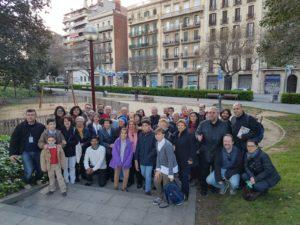 El grup de Tarragona a la sortida
